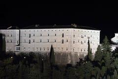 Abbazia di Montecassino Fotografia Stock Libera da Diritti