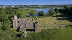 Abbazia di pollice Downpatrick, contea giù L'Irlanda del Nord fotografia stock libera da diritti