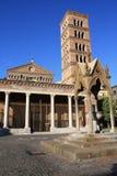 Abbazia di San Nilo in Grottaferrata (Roma, Italia) Immagine Stock