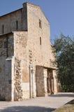 Abbazia di Sant Antimo,本尼迪克特的修道院蒙达奇诺,托斯卡纳 免版税库存照片