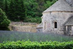 Abbazia di Senanque, Francia Fotografia Stock Libera da Diritti