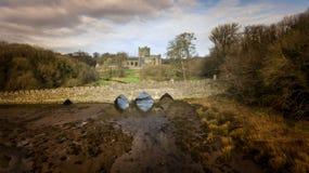 Abbazia di Tintern contea Wexford l'irlanda immagini stock libere da diritti