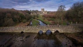 Abbazia di Tintern contea Wexford l'irlanda immagine stock
