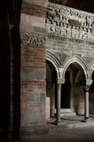 Abbazia di Vezzolano, Innen Lizenzfreie Stockbilder