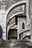 Abbazia di Vienne, Francia fotografie stock