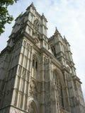 Abbazia di Westminster dall'ovest Fotografia Stock Libera da Diritti
