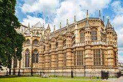 Abbazia di Westminster Londra, Inghilterra Fotografia Stock Libera da Diritti