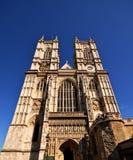 Abbazia di Westminster un giorno soleggiato Fotografia Stock Libera da Diritti
