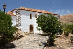 Abbazia francescana di San Buenaventura, Betancuria, Fuerteventura Immagine Stock Libera da Diritti