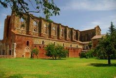 abbazia galgano圣 免版税库存图片