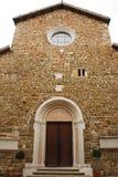 Abbazia Rosazzo. The Abbazia di Rosazzo - Rosazzo Abbey - which dates back to around 1070 and is located in Friuli, north east Italy Royalty Free Stock Photo
