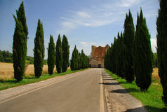 Abbazia San Galgano Stock Photo