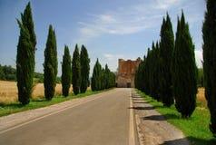 abbaziagalgano san Arkivfoto