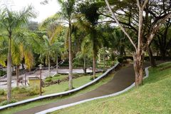 Abbellimento dei giardini fotografia stock