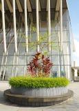 Abbellimento dell'architettura moderna Fotografia Stock Libera da Diritti