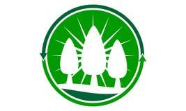 Abbellimento della cura che prende Logo Design Template illustrazione di stock