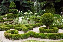 Abbellimento di progettazione del giardino Fotografie Stock