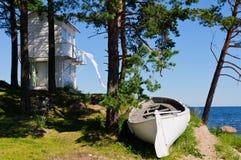 Paesaggio Kaesmu, Estonia fotografie stock libere da diritti