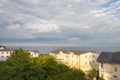 Abbellisca con le ville storiche in Sassnitz sull'isola del ¼ g di RÃ immagine stock libera da diritti