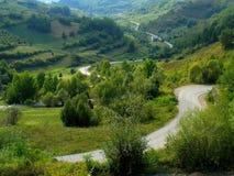 Abbellisca da Maramures nel Nord della Romania fotografie stock