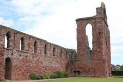 Abbey Arbroath antigua en Escocia, Gran Bretaña Fotografía de archivo libre de regalías