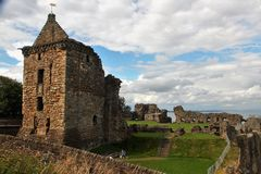 abbey arbroath Scotland Obraz Royalty Free