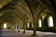 Abbey Arches Royalty Free Stock Photos