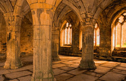 Abbey Arches. Taken in Wales Royalty Free Stock Photography