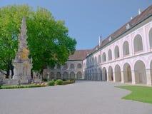 Abbey av Heiligenkreuz Royaltyfria Foton