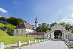 Abbey av Heiligenkreuz Royaltyfri Bild