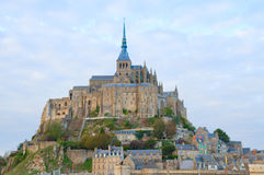Abbey av Mont Sanktt Michel, Royaltyfri Foto