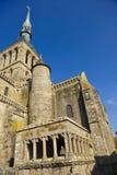 Abbey av monteringsSt Michel Arkivfoton