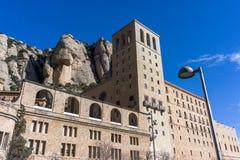 Abbey av Montserrat Royaltyfria Bilder