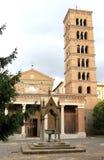 Abbey av Santa Maria di Grottaferrata, Italien Fotografering för Bildbyråer