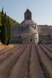 Abbey av Senanque, Gordes, Frankrike Arkivbild