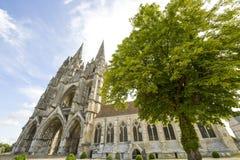Abbey av St-Jean-des Vignes i Soissons Royaltyfri Bild