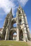 Abbey av St-Jean-des Vignes i Soissons Royaltyfria Foton