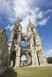 Abbey av St-Jean-des Vignes i Soissons Arkivfoton