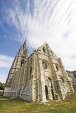 Abbey av St-Jean-des Vignes i Soissons Arkivbild