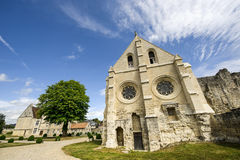 Abbey av St-Jean-des Vignes i Soissons Fotografering för Bildbyråer
