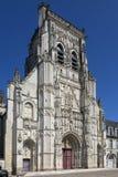 Abbey av St Riquier - Sommen - Frankrike Arkivfoton