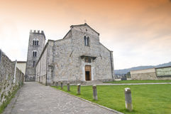 Abbey of Camaiore Stock Images