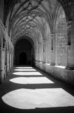 Abbey Canas. Canas Abbey at La Rioja, Spain Stock Photo