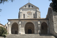 Abbey of Casamari (Lazio, Italy), the church Stock Photos