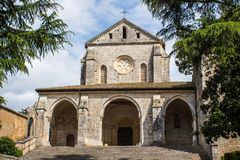 The abbey of Casamari, near Veroli, Italy Royalty Free Stock Photos