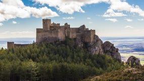 Abbey Castle Loarre Royaltyfri Bild