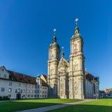 Abbey Cathedral av StGallen i Schweiz Arkivbild