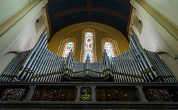 Abbey cathedral interior Stock Photography