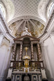Abbey cathedral interior. Majestic church in Floreffe, Belgium Stock Photo