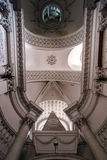 Abbey cathedral interior. Majestic church in Floreffe, Belgium Stock Photography
